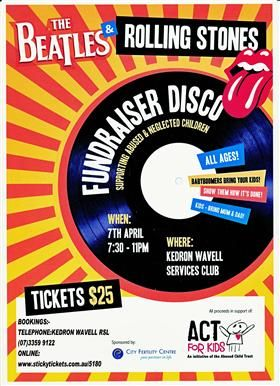 Fundraiser Invitation  Graphic Design