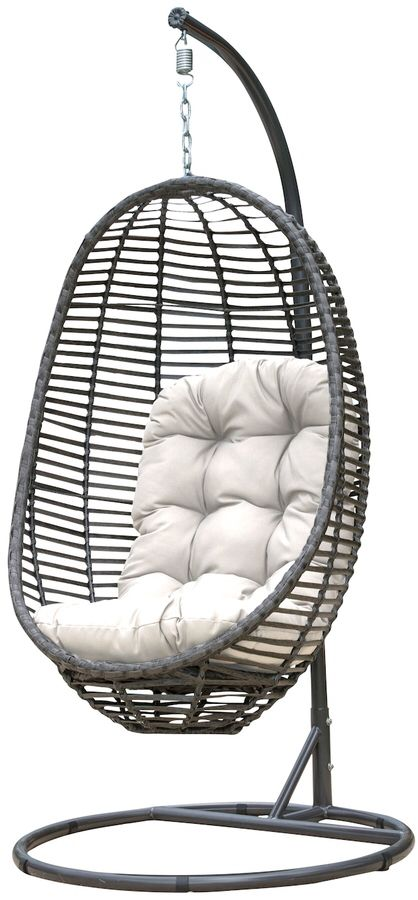 Panama Jack Graphite Hanging Chair Time To Redecorate Chair Homedecor Hangingchair Redecorate Ad Hanging Chair Small Comfy Chair Swinging Chair