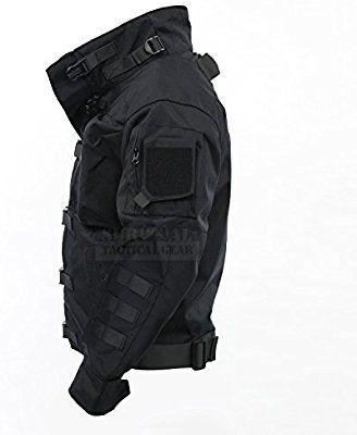 ZAPT Cordura US Army Tactical Jacket Military Waterproof Windproof Hard Shell Jackets Mens Tactical Pants, Tactical Wear, Tactical Clothing, Mode Sombre, British Khaki, Army Combat Uniform, Cyberpunk Fashion, Collar Designs, Cool Jackets