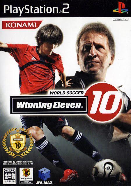 World Soccer Winning Eleven 10 Ps2 Iso Rom Download Pro Evolution Soccer Soccer Konami