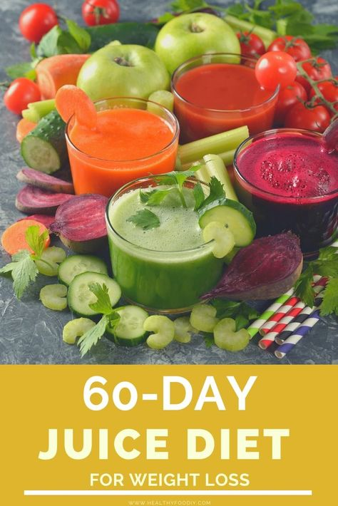 Up for a challenge? These juices are satisfying, delicious and will detox your body! #healthy #juice #recipes #weight #loss #effective