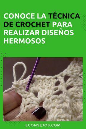 Como Aprender A Tejer Crochet Para Principiantes Aprende A Tejer Crochet 6 Modelos Lindos Y Diferentes Para