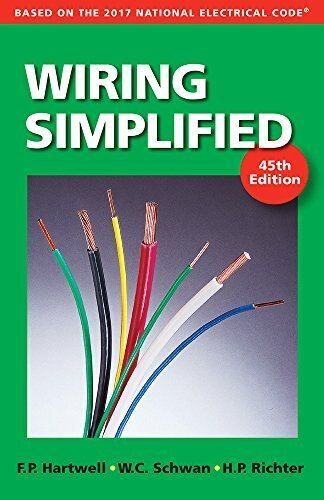 Wiring Simplified Based On The 2017 National Electrical Code In 2021 Electrical Code Electricity Coding