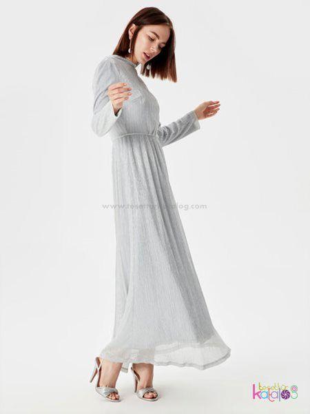 Isiltili Sifon Uzun Abiye Elbise 2020 Elbise Uzun Elbise Rahat