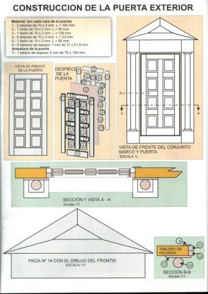 Casas De Muñecas Instruciones Y Planos Para Su Construcción Casas De Muñecas Ideas De Casa De Muñecas Planes De Casa De Muñecas