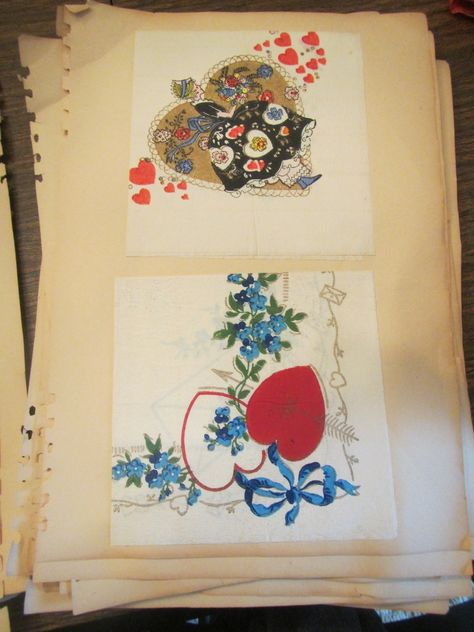 vintage napkin collection