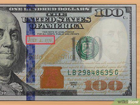How To Check If A 100 Dollar Bill Is Real 100 Dollar Bill Dollar 100 Dollar