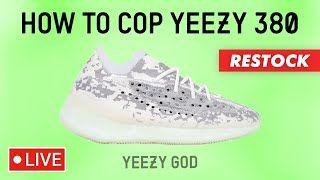 How to Cop adidas Yeezy Boost 380 Alien