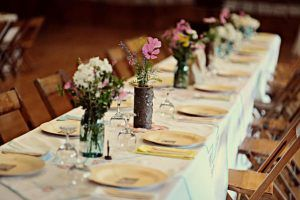 Simple Table Decorations Reception Table Decorations On A
