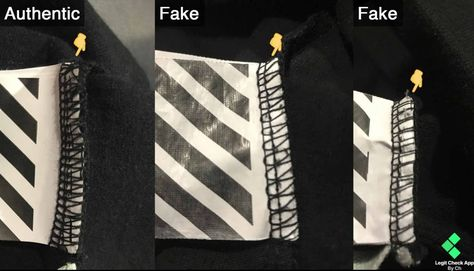 How To Spot Fake Vs Real Off White Clothing (Works For Any