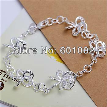 LQ-H185 Free Shipping 925 Silver Bracelet Fashion Jewelry