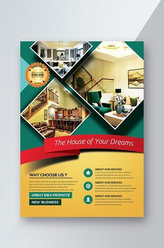 Elegant Real Estate Flyer Templates Psd Free Download Pikbest Real Estate Flyer Template Real Estate Flyer Graphic Design Flyer