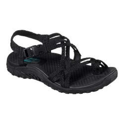 Skechers GO Walk Move Quarter Strap Sandals Brilliancy Black A