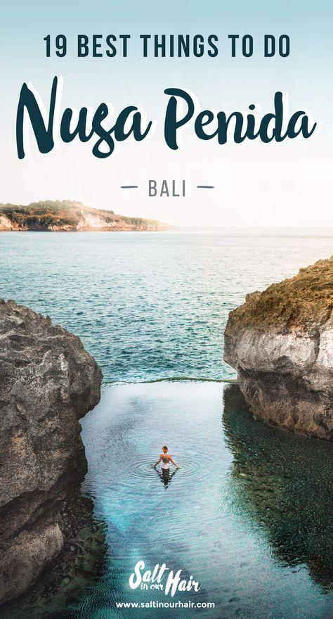 19 x Things you MUST DO on Nusa Penida  | Things to do Nusa Penida | Bali | Kelingking | Angel's Billabong | Atuh Beach | Diamond Beach   #bali #nusapenida #indonesia