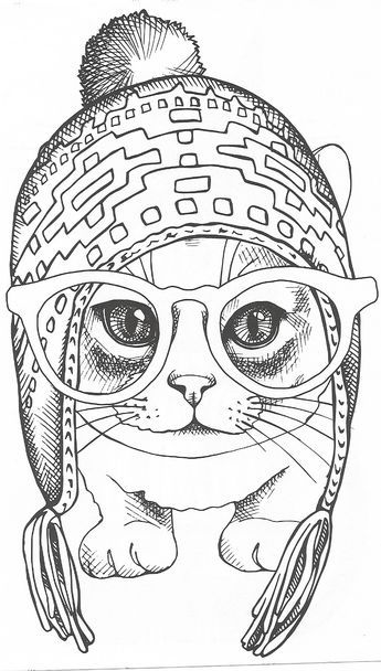 Cute Cat Cat Coloring Page Animal Coloring Pages Coloring Pages
