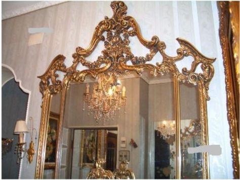 Schlafzimmer barock Konsole Spiegel Hartholz Vitrine Kommod in - ebay kleinanzeigen schlafzimmer
