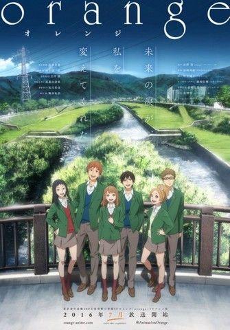 Anime Voyage Dans Le Temps : anime, voyage, temps, Recommandation], Critique, Anime, Orange, Anime,, Films, Japonais,
