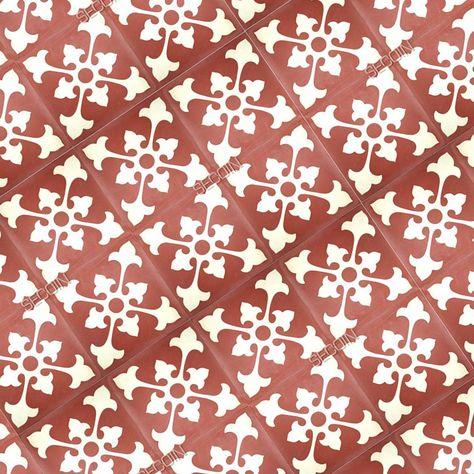 Carreau Ciment Riad Carreau De Ciment Rouge Carreaux Ciment