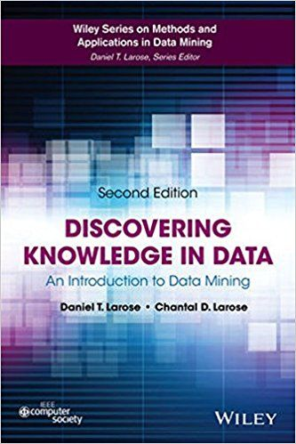 Solution Manual For Discovering Knowledge In Data An Introduction