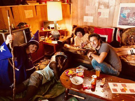 Noah, Caleb, Finn & Shawn Levy Behind the Scene of Stranger Things 3