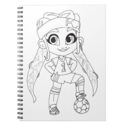 Hairdorables Brit Coloring Notebook Zazzle Com Cute Dolls Art For Kids Color