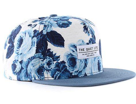 """THE QUIET LIFE """"Floral"""" Snapback Cap"""
