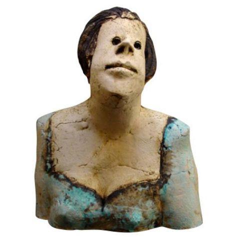 Borstbeeld vrouw - Sjer Jacobs