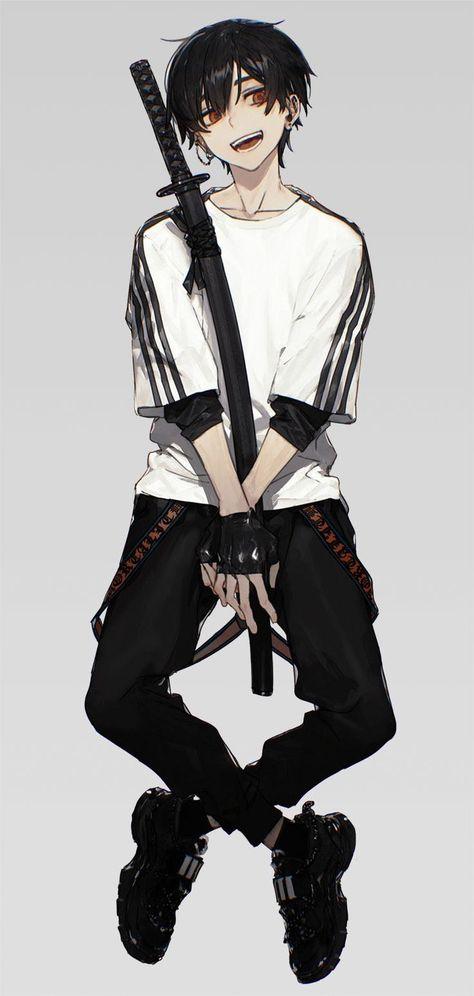 Anime Boy Clothes : anime, clothes, Anime, Outfits, Ideas, Guys,, Anime,