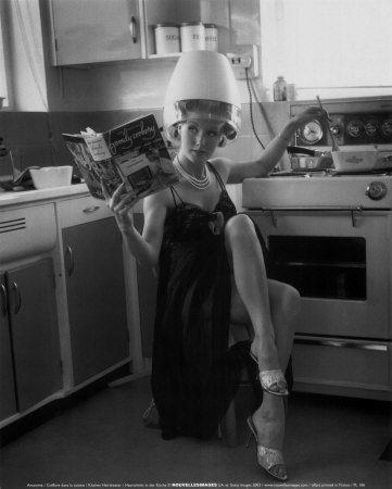kitchen hairdresser