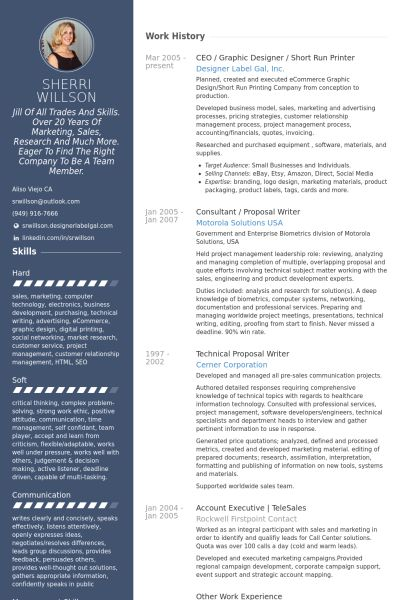 ceo \/ graphic designer \/ short run printer Resume Example Places - examples of ceo resumes