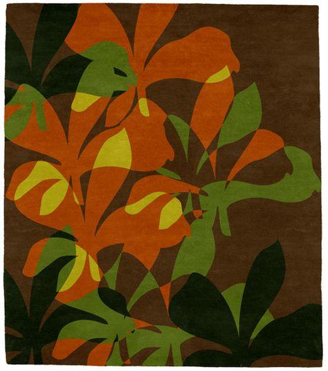 Green Leaf Rugs | Green Leaf Rugs | Blossom Tropical Rug