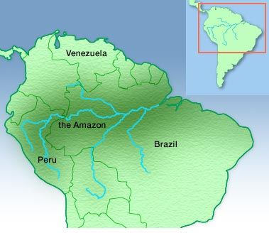 Amazon River South America Amazon River Pinterest Amazon - Where is the amazon river