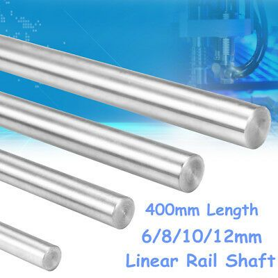 Ebay Sponsored 400mm Length 6 8 10 12mm Diameter 3d Printer Smooth Rod Steel Linear Rail 3d Printer Printer Linear