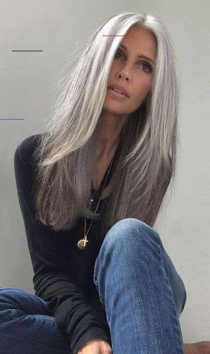 Lange haare ab 50