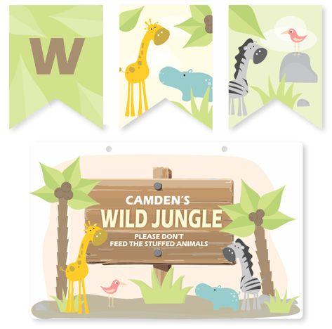 room decor - Wild Jungle