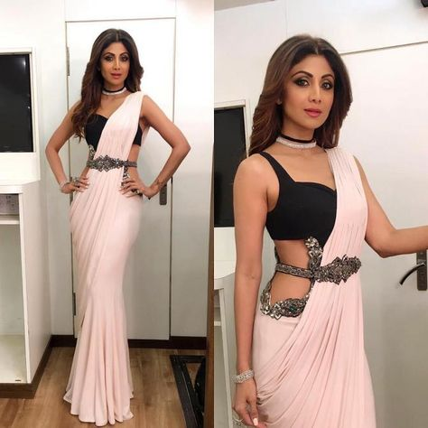 Shilpa Shetty Kundra gives us some major sari goals by her aesthetic sari sense and style. Here are the top five of her sari looks which are must in