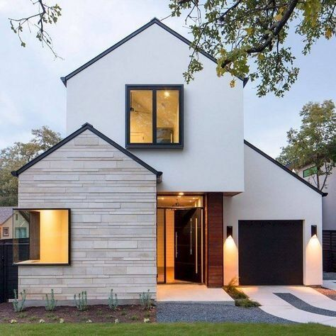 Stunning Scandinavian Architecture That You Are Sure To Love The Flourishing Life In 2020 Small House Exteriors Small House Design House Designs Exterior