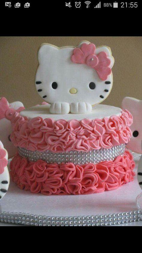 Hello Kitty Torte Hallo Kitty Kuchen Hallo Kitty Geburtstags