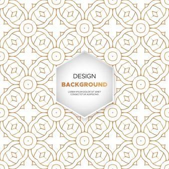 Download Luxury Ornamental Mandala Design Background In Gold Color