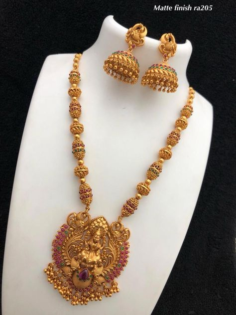 Temple jewellery Available at AnkhJewels for booking what'sapp