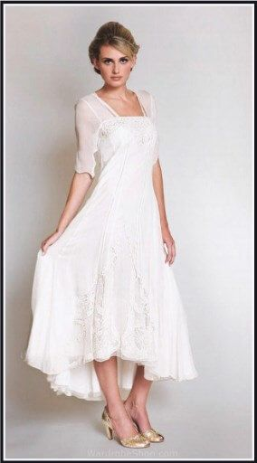 100 Best Tea Length Wedding Dresses For Older Brides 2nd