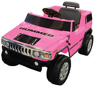 Hummer Kid Motorz 6v Pink Battery Operated Ride On In 2021 Hummer H2 Ride On Toys Hummer