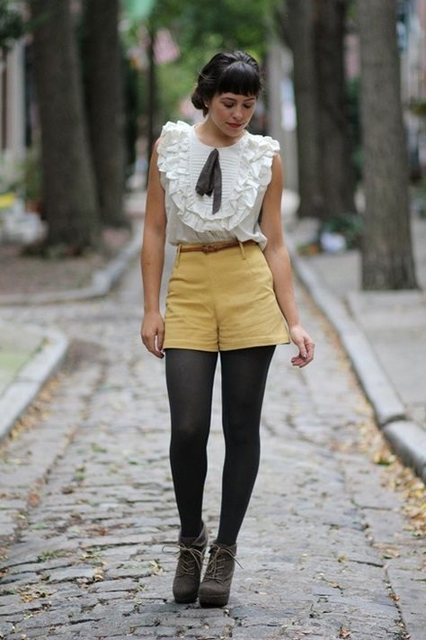 e6db031d82f Is it cool to wear shorts over tights  - Quora