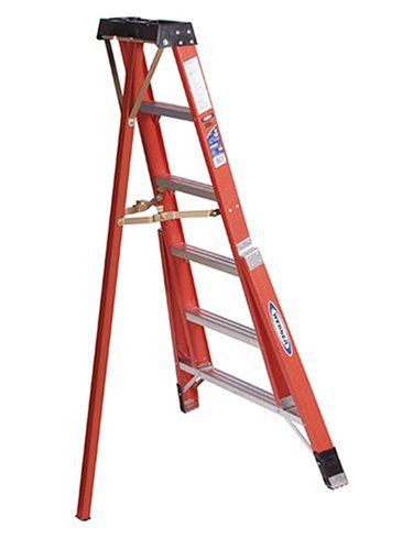 Cheap Werner Ftp6206 300 Pound Duty Rating Fiberglass Tripod Ladder 6 Foot Ladder Fiberglass Telescopic Ladder