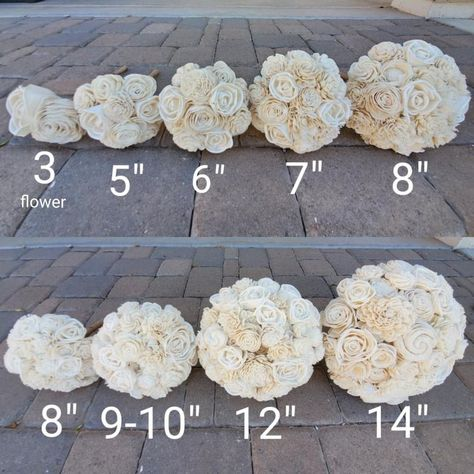 Slate Blue Gray and Cream Wood Flower Bouquet with Wood Flower Bouquet, Flower Bouquet Wedding, Floral Wedding, Fall Wedding, Our Wedding, Dream Wedding, Silk Wedding Bouquets, Flower Bouquets, Rose Bouquet