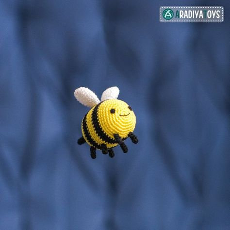 Ravelry: Kawaii bee amigurumi pattern by mohu | 474x474
