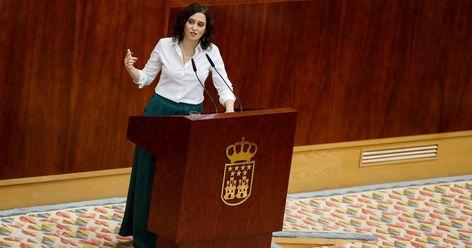 """""""Me habla el personaje más traidor de la política española"""": la descalificación de Díaz Ayuso a Errejón"""