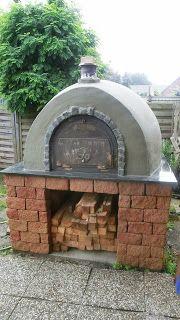 Mein Steinbackofen Holzbackofen Pizzaofen Bauen