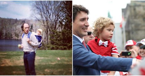 Justin Trudeau & Father Pierre Trudeau's Relationship Was So Authentically Canadian