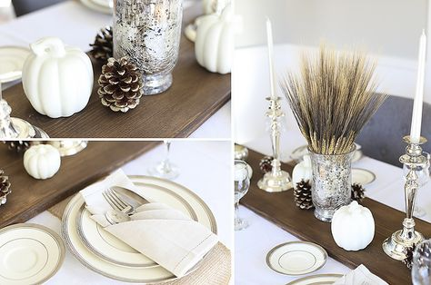 DIY Rustic Wood Table Runner